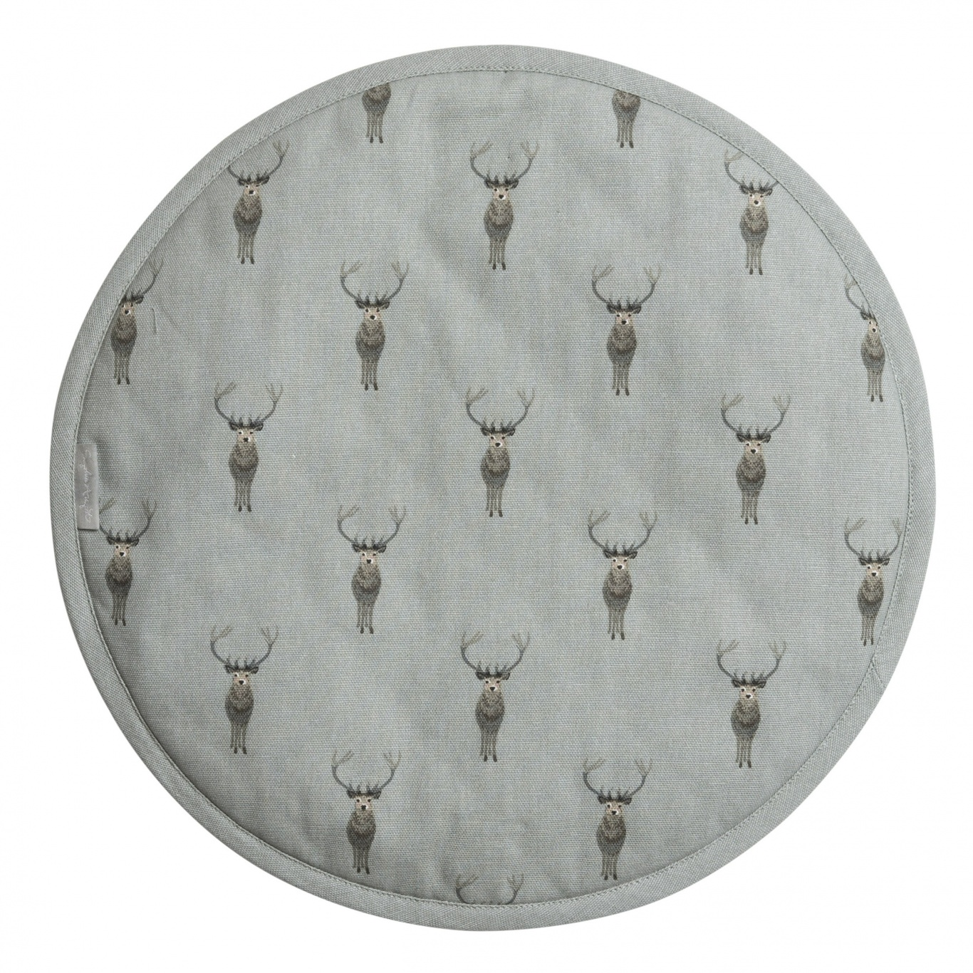 Image of Sophie Allport Highland Stag Round Hob Cover