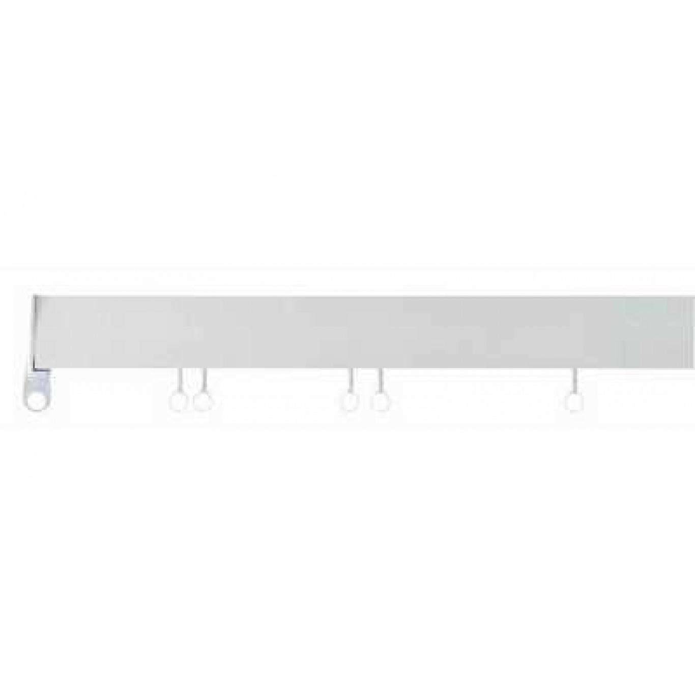 Image of Swish Deluxe White PVC Track 125cm