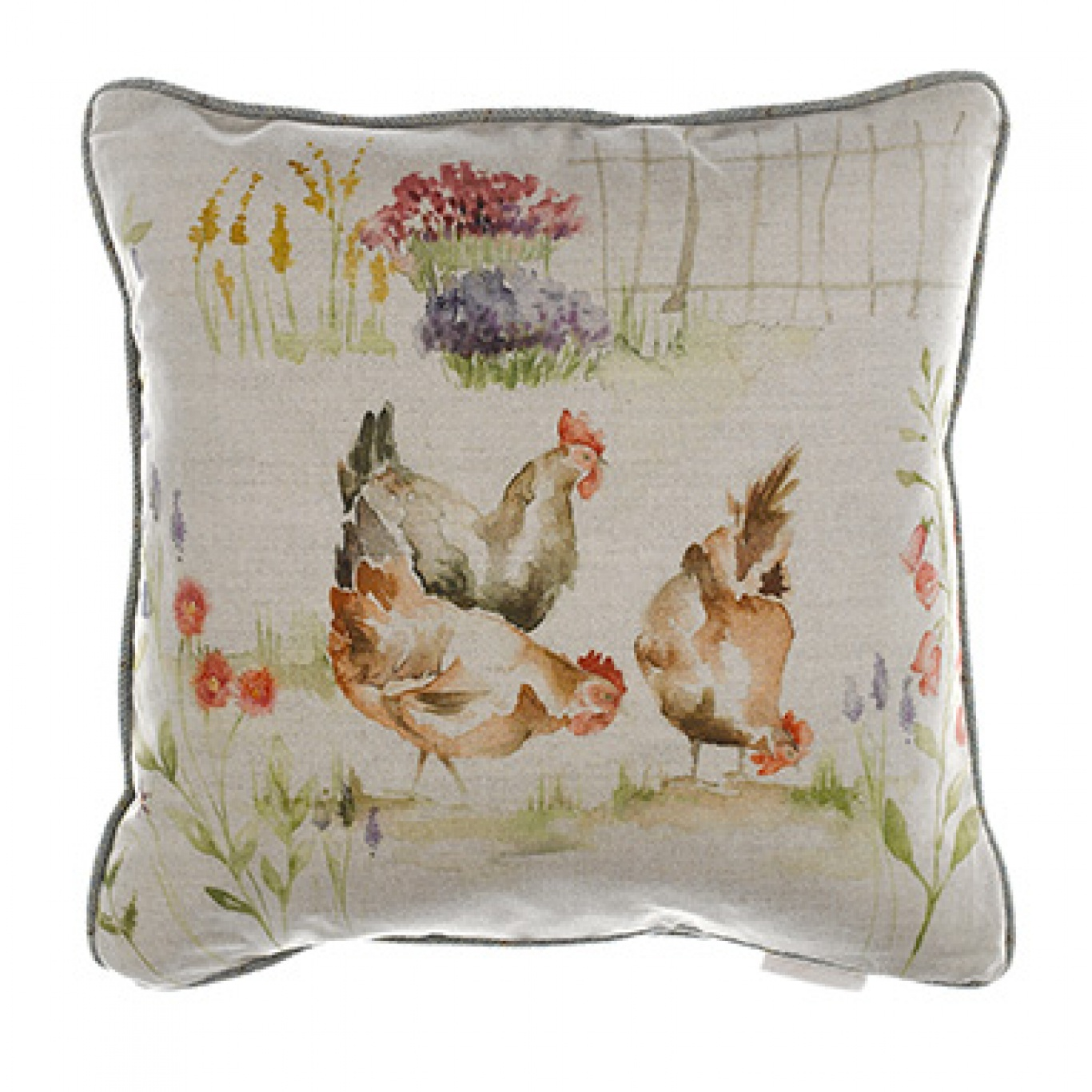 Image of Voyage The Girls Linen Cushion