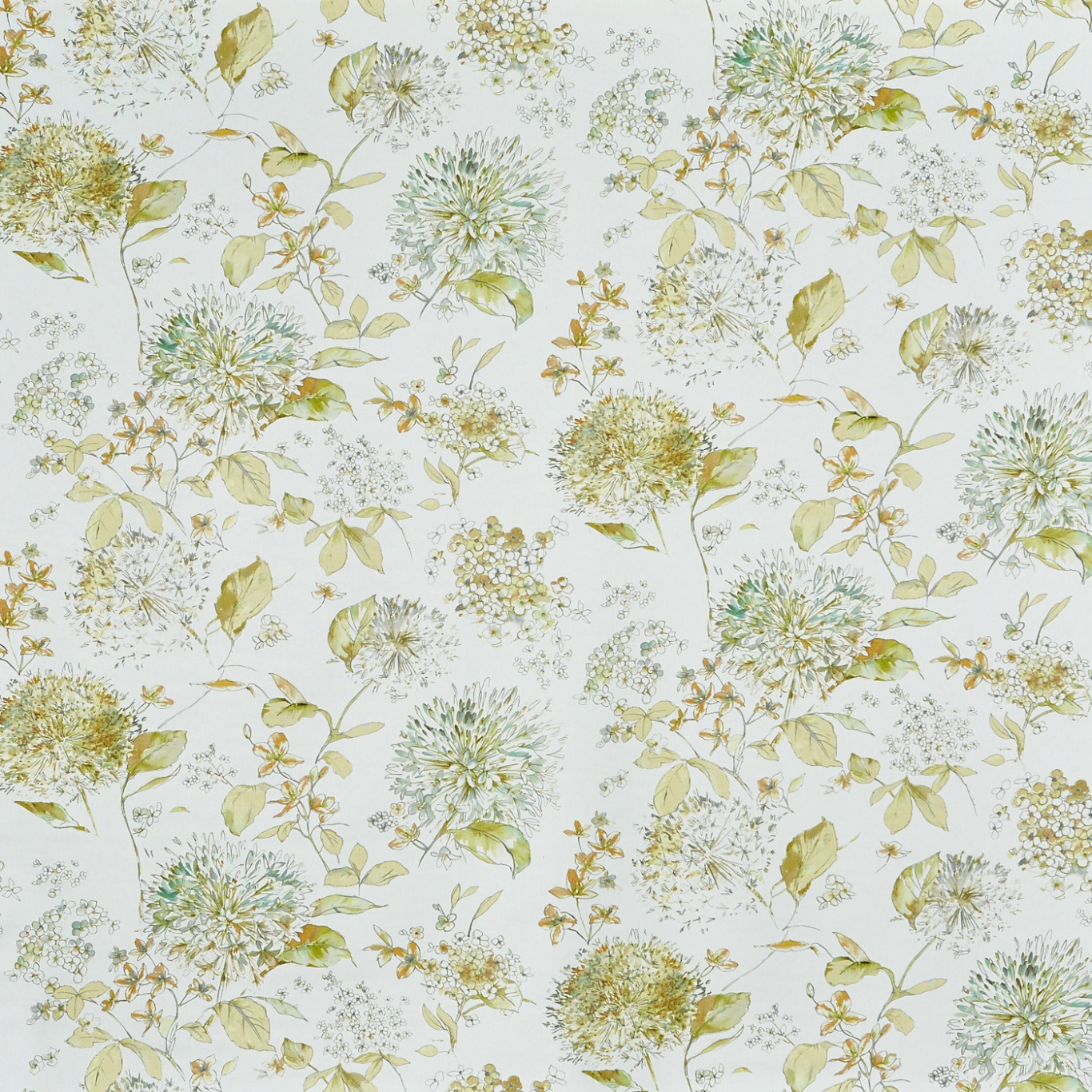 Image of Prestigious Lila Primrose Fabric 8671/509
