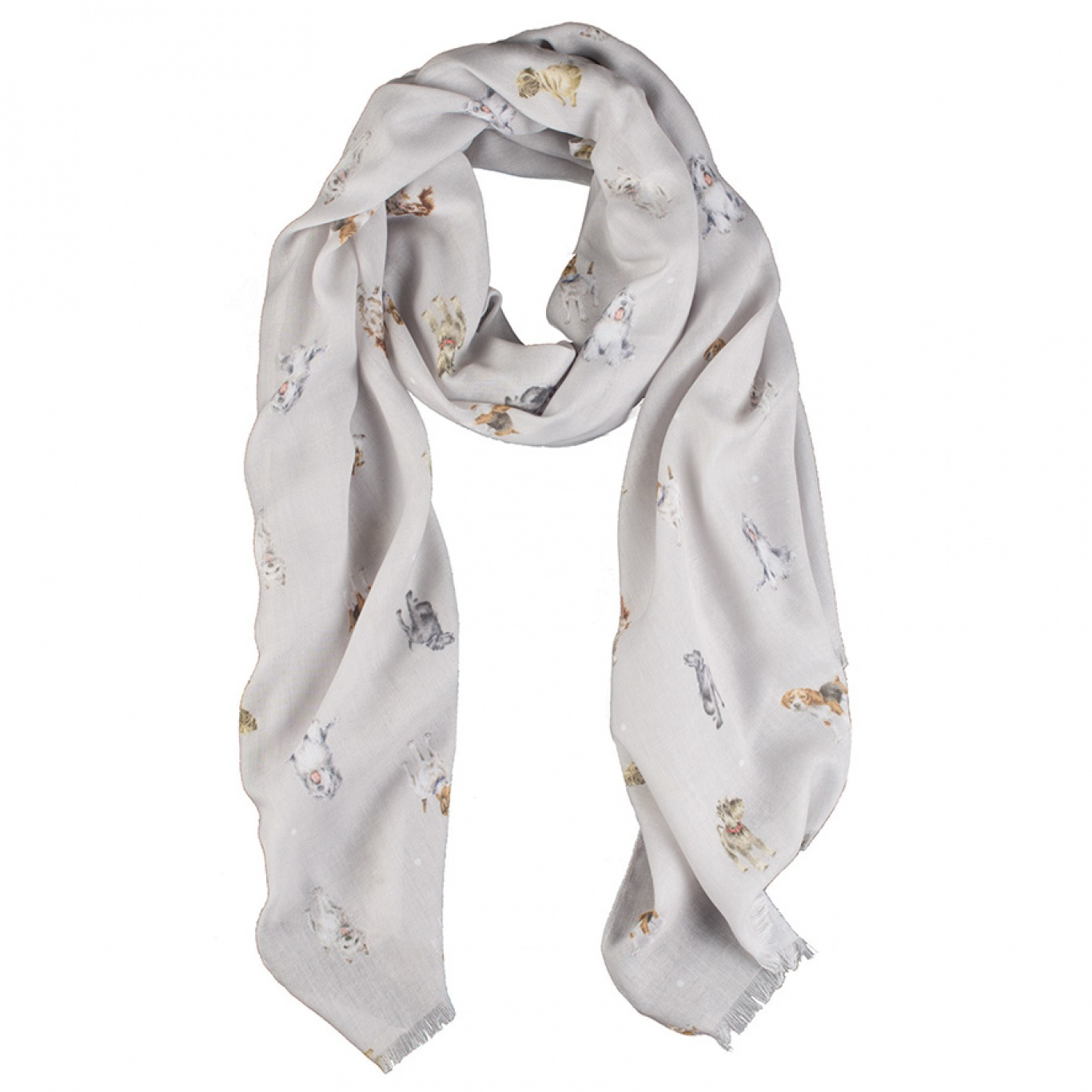 Image of Wrendale Designs A Dog's Life Scarf