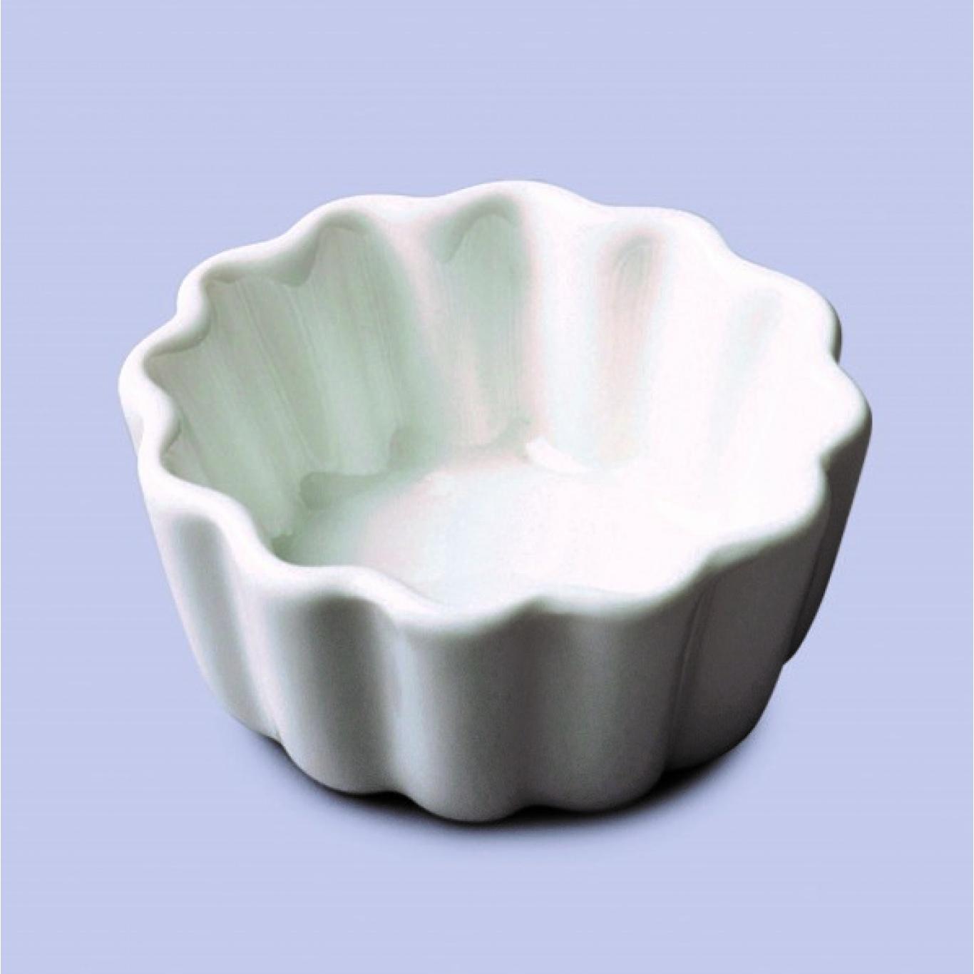 Image of Mini Round Crinkle Dish