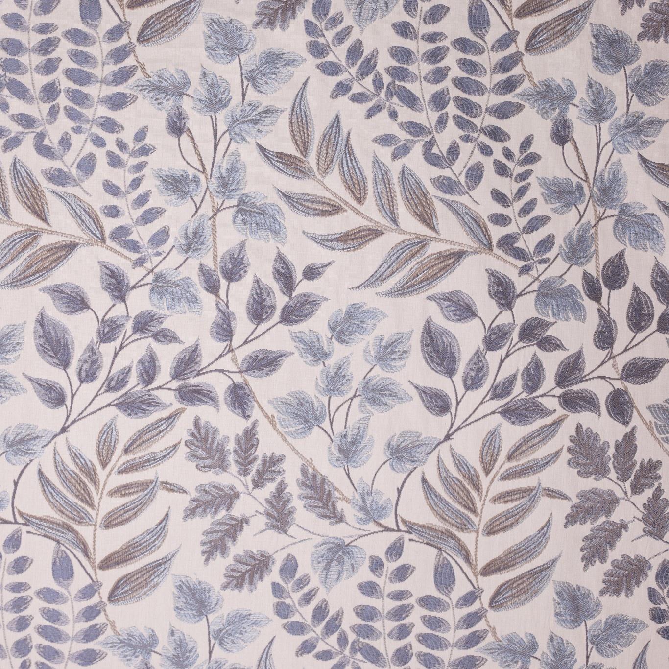 Image of Voyage Listaro Bluebell Curtain Fabric